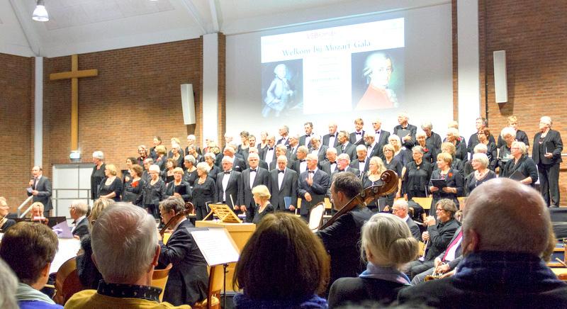 Mozart Gala - 10e keer Amadeus koor